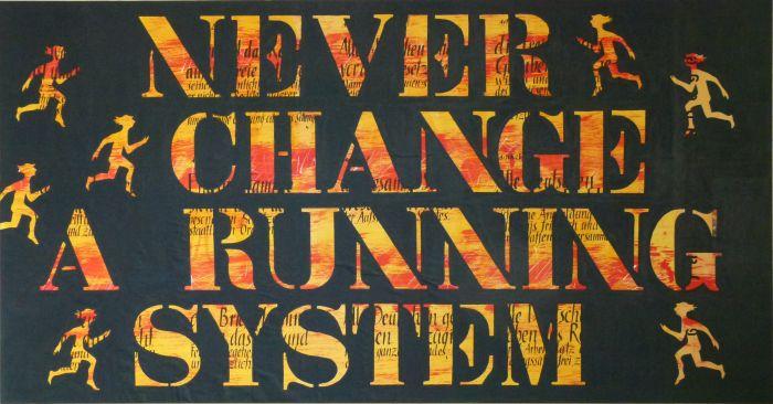 Never change a running system - das deutsche Grundgesetz